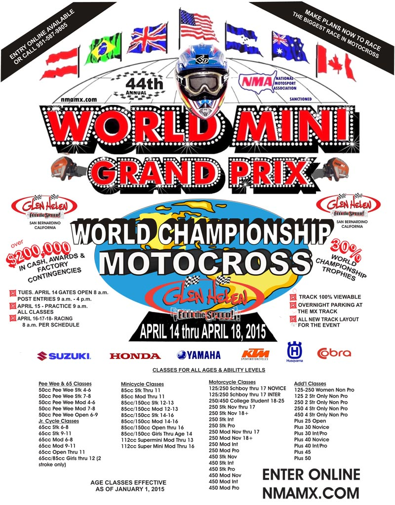 2015 world mini grand prix flyer